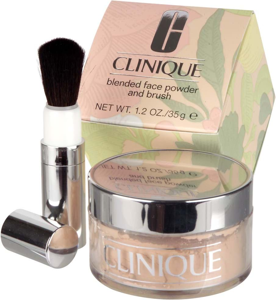Clinique Blended Face Powder/Brush Transparency 3