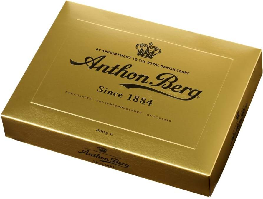 Anthon Berg Luxury Gold 800g