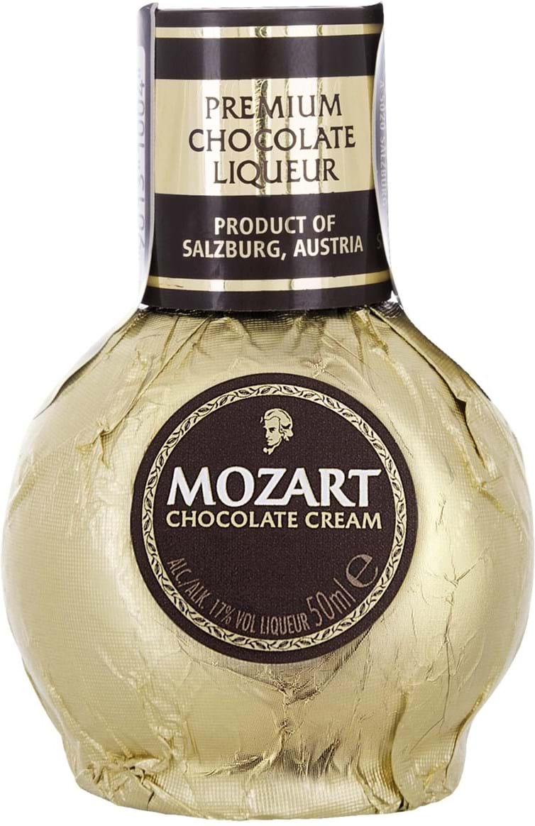 Mozart Chocolate Cream Liqueur 17% 0.05L