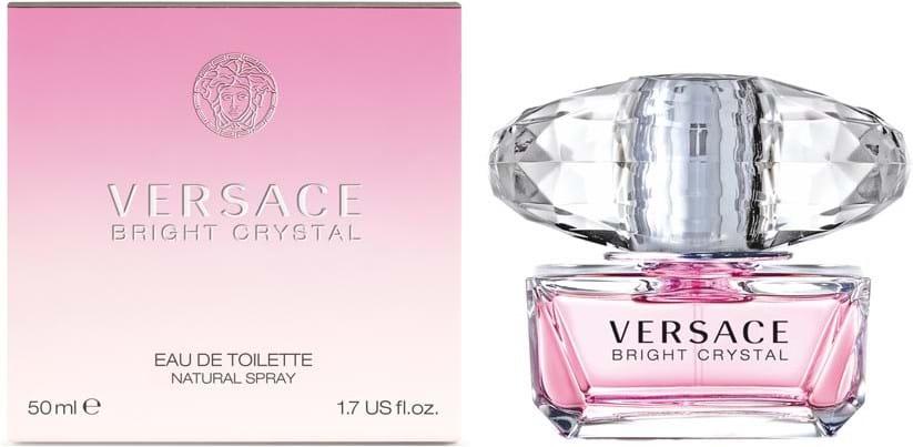 Versace Bright Crystal Eau de Toilette 50ml