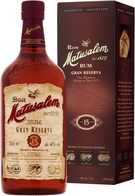 Matusalem Rum Gran Reserva 15y 40%0.7L