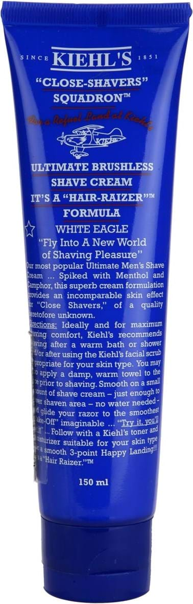 Kiehl's Ultimate Brushless Shave Cream 150ml