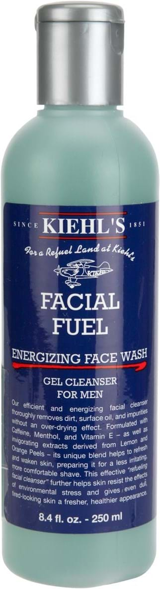 Kiehl`s Pre-Shave Facial Fuel Energizing Face Wash 250 ml