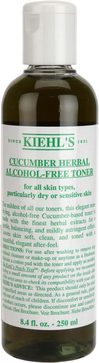 Kiehl's Toners Cucumber Herbal Alcohol-Free 250 ml