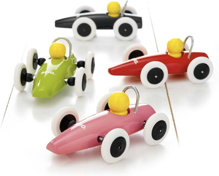 Brio, racing car display