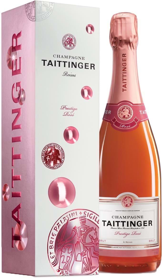 Taittinger, Brut Rosé, brut, rosé, (gift box), 0.75L