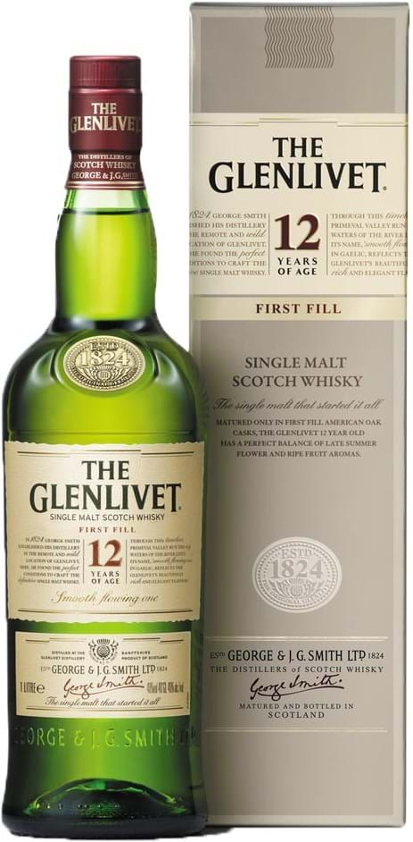 The Glenlivet 12y 40% 1L