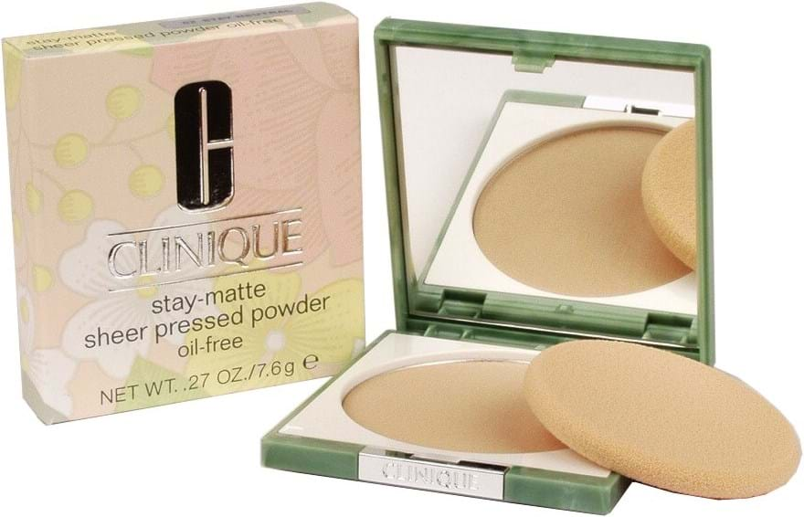 Clinique Stay-Matte Sheer Pressed Powder N° 02 Neutral