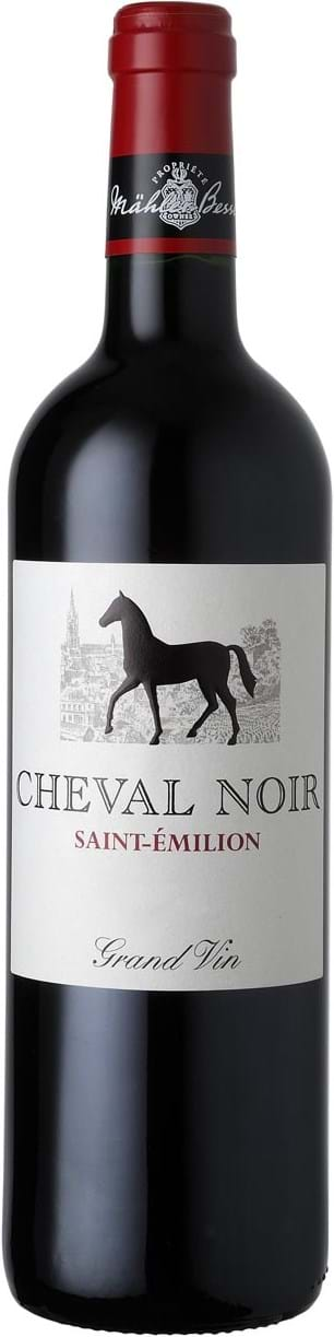 Cheval Noir, Saint-Émilion, AOC, dry, red 0.75L