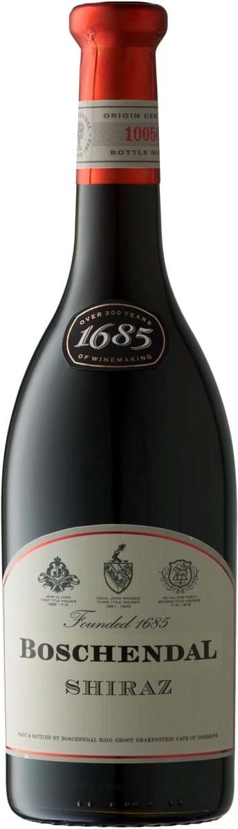 Boschendal, 1685, Shiraz, Wine of Origin, Coastal Region, tør, rød, 0,75L