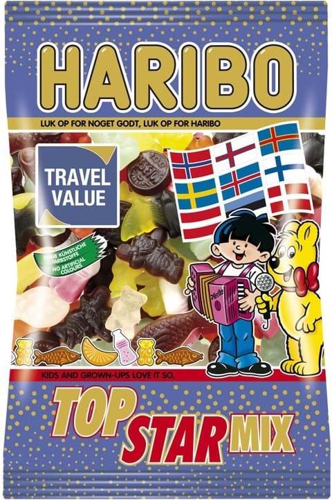 Haribo Topstarmix 500g