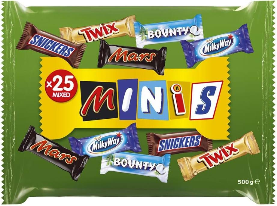 Mars Mixed Minis Funsize Bag 500g